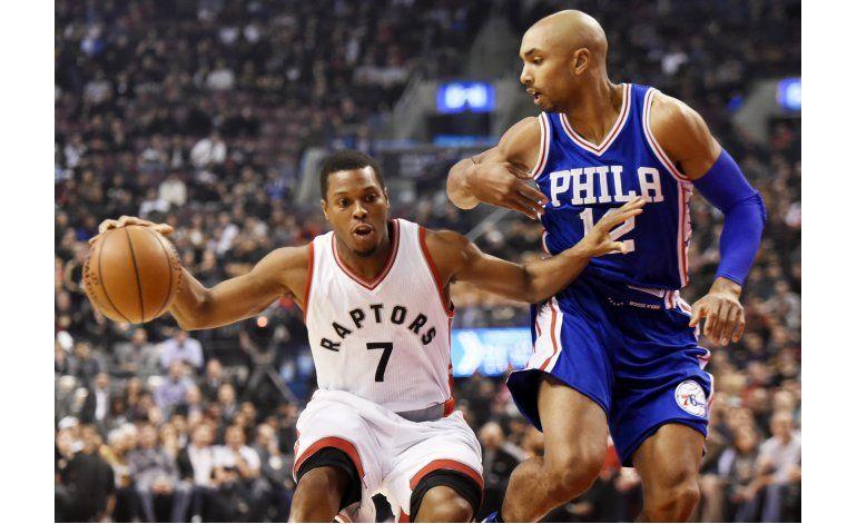 Lowry emboca sus 6 triples; Raptors vuelven a vencer a 76ers