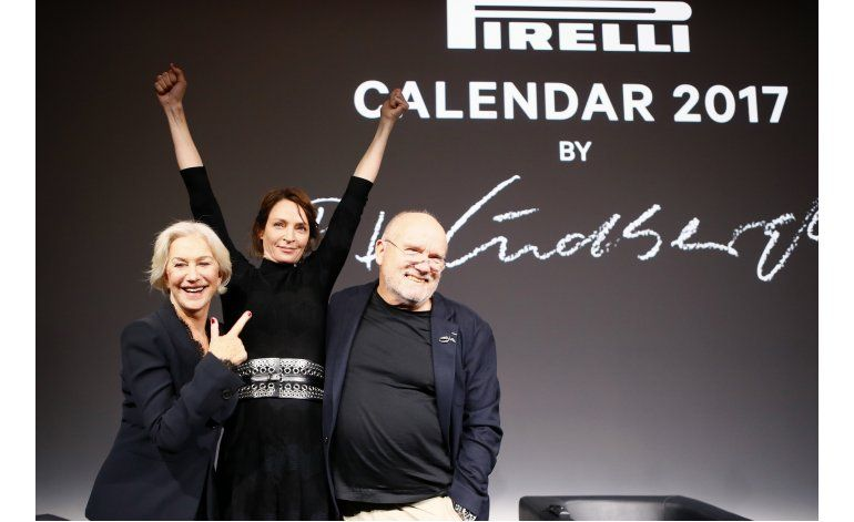 Pirelli lanza calendario 2017, con estrellas de Hollywood