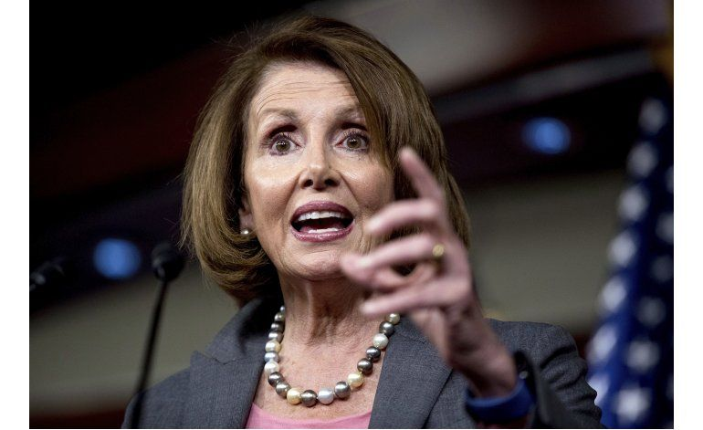 Pelosi es reelegida líder de los demócratas en el Congreso
