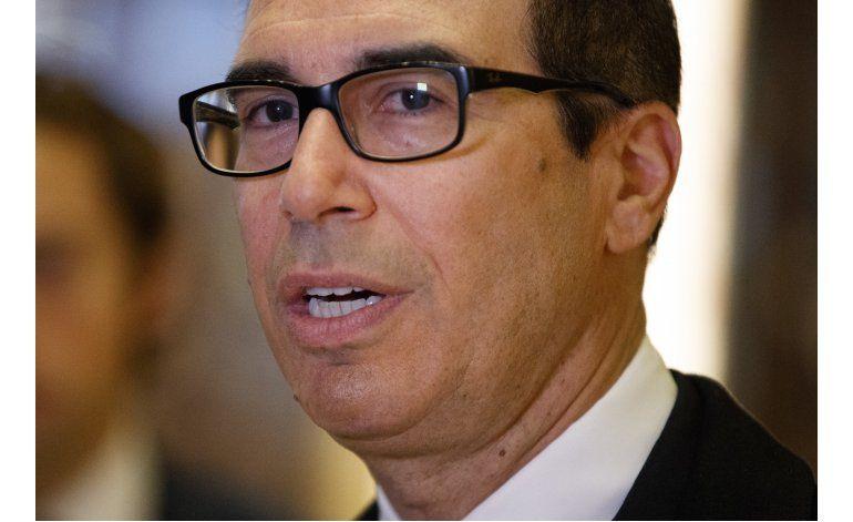 Trump nomina a exejecutivo de Goldman Sachs para el Tesoro