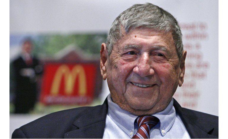 Muere el creador de la hamburguesa Big Mac de McDonalds