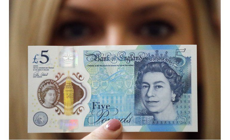 Vegetarianos protestan por nuevo billete en Gran Bretaña