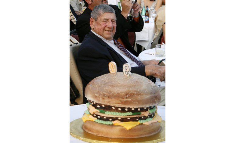 Creador del Big Mac fallece a los 98 años