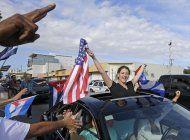 exiliados en miami se manifiestan por la liberacion de cuba