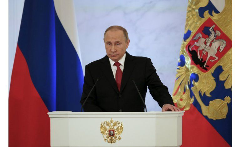 Putin busca mejores lazos Rusia-EEUU, cooperar contra terror
