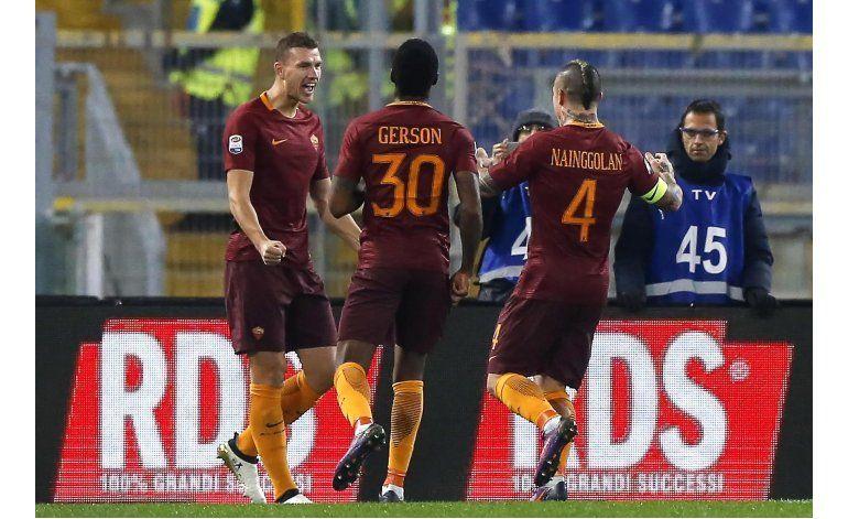 Delantera de la Roma se destaca en la Serie A