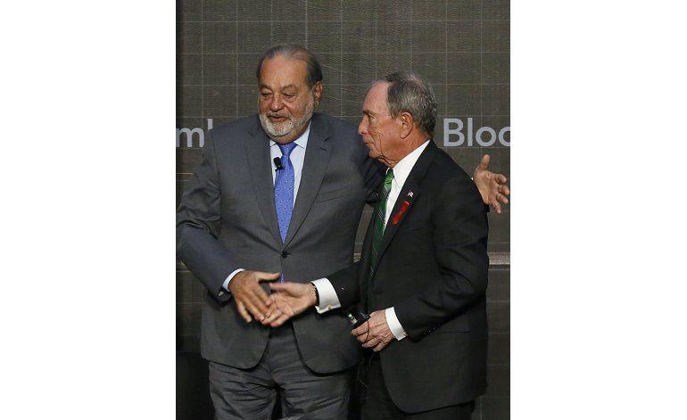 Slim: La presidencia de Trump podría ser buena para México