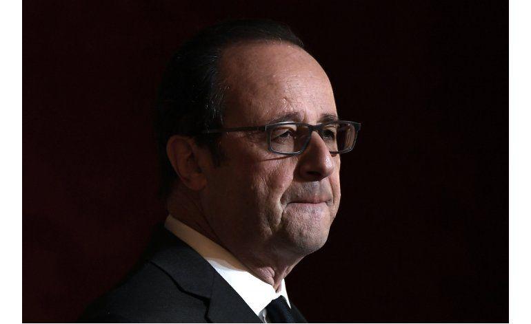 Presidente Hollande no buscará la reelección en Francia