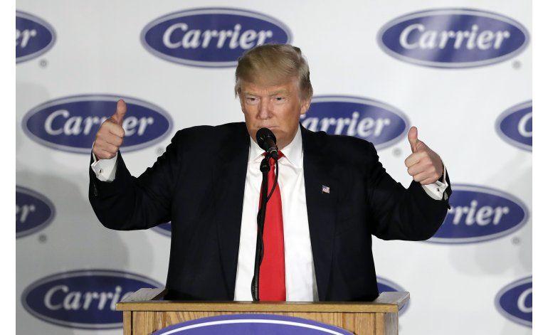 Trump inicia de manera estruendosa su gira de agradecimiento