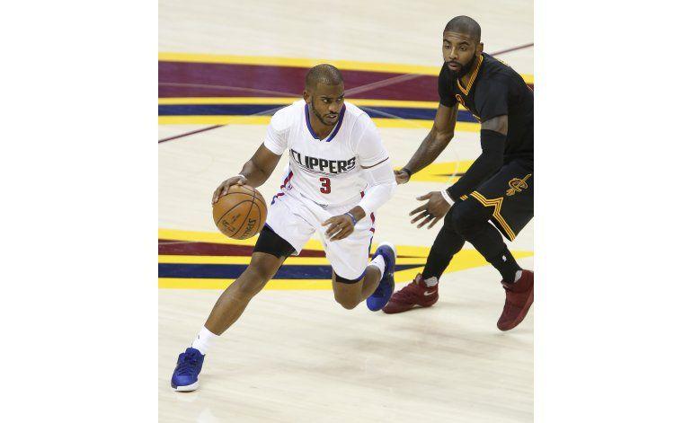 Clippers aplastan a Cavs, que sufren 2da derrota seguida