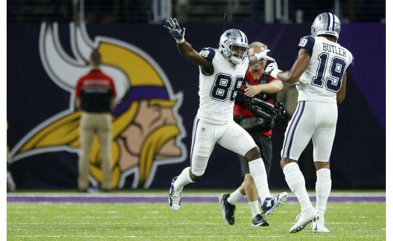 Cowboys vencen a Vikings; llegan a 11 triunfos seguidos