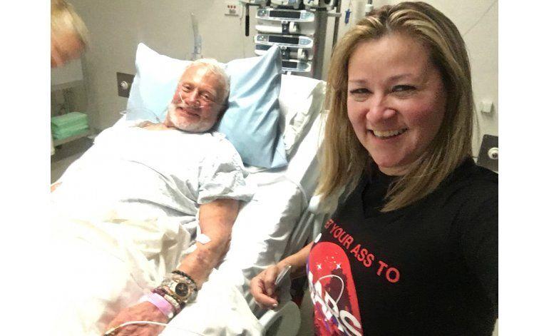Aldrin descansa en Nueva Zelanda tras evacuación de Polo Sur