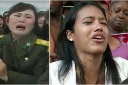 cuba se norcoreaniza para llorar a fidel