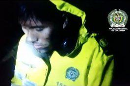 nuevas imagenes del rescate de sobrevivientes de la tragedia aerea en colombia