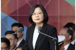 trump habla con la presidenta de taiwan