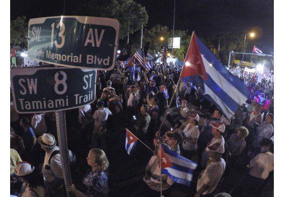 Cubano-estadounidenses tienen peso político robusto en EEUU