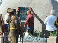 salen nuevas imagenes del entierro del dictador fidel castro