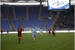hinchas de roma protestan ausentandose de derby
