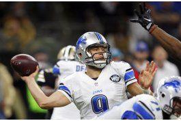 stafford lanza para 341 yardas; lions vencen a saints