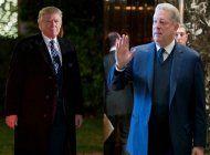 presidente electo donald trump se reune con al gore