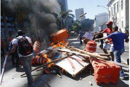 protestas en brasil contra medidas de austeridad