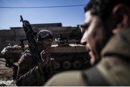 irak: grupo ei lanza ataque nocturno contra tropas en mosul