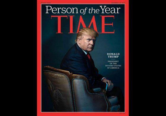 Time eligió a Donald Trump como Persona del año con una dura ironía en su portada
