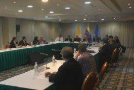 oposicion venezolana analiza si retomara las conversaciones con el gobierno luego de una reunion en caracas con el enviado del papa francisco