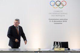 bach desea veto de por vida a atletas implicados en dopaje