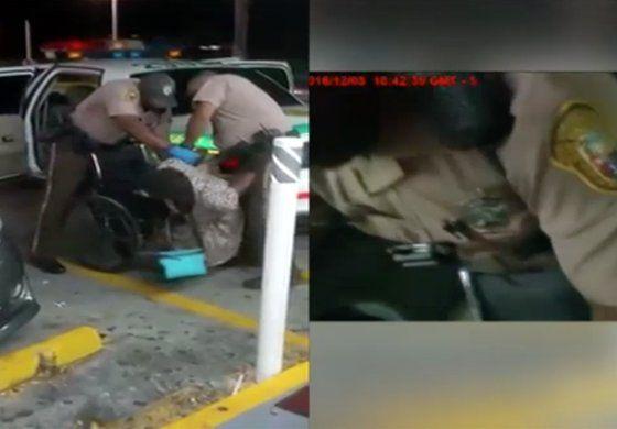 Video del arresto de una señora en silla de ruedas despierta polémica en Miami Dade