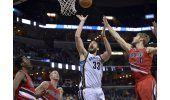 Con 36 de Gasol, Grizzlies superan a Blazers