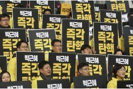parlamento surcoreano aprueba juicio politico a presidenta