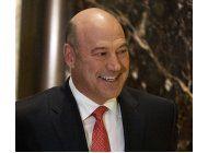 trump nombrara a ejecutivo de goldman para puesto economico