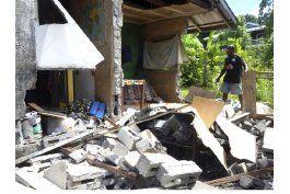 sismo afecto a cientos de personas en islas salomon