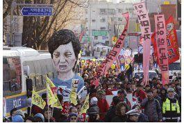 tras protestas, surcoreanos celebran proceso a presidenta