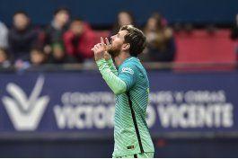 con uno de suarez y dos de messi, barcelona vuelve a ganar