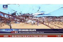cae techo de iglesia en nigeria; hay al menos 60 muertos