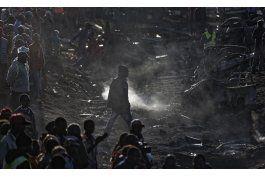 choque multiple con camion cisterna deja 39 muertos en kenia