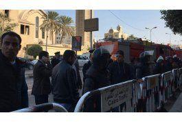 el cairo: 25 muertos en explosion en catedral copta