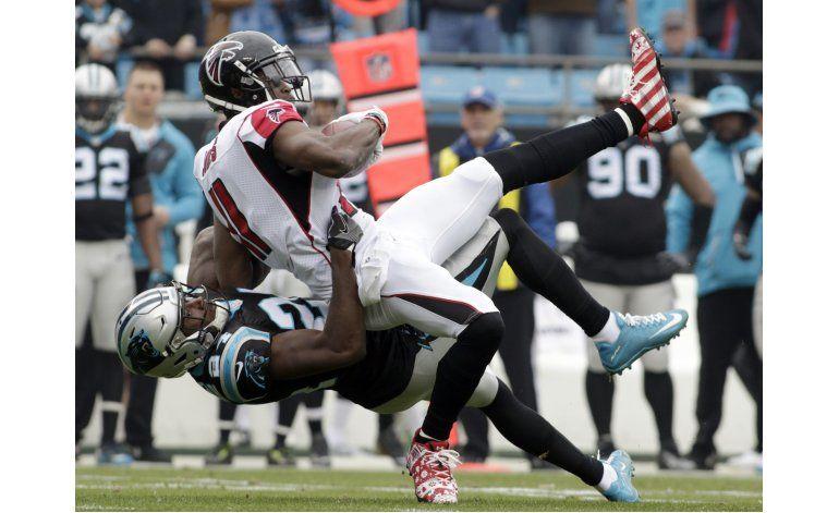 Falcons: Julio Jones aún no está 100% saludable