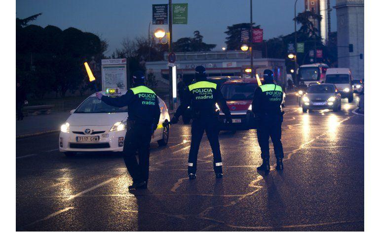 Madrid prohíbe la entrada de camiones para prevenir ataques
