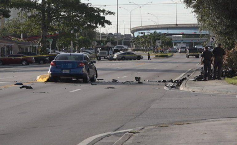 Joven pierde la vida en fatal accidente en Miami