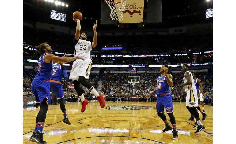 Davis impulsa a Pelicans a su 4ta victoria al hilo