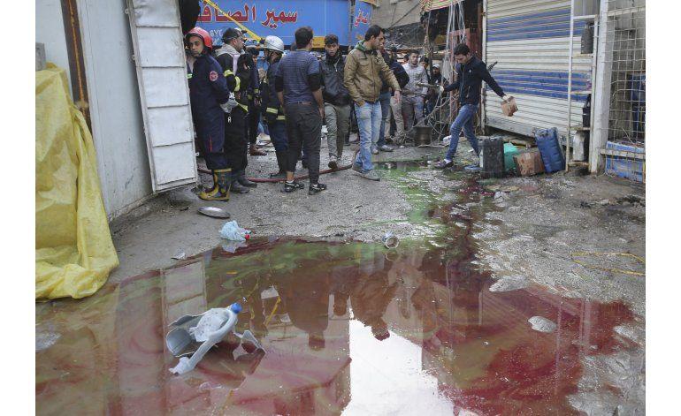 Grupo EI reivindica ataque con al menos 28 muertos en Bagdad