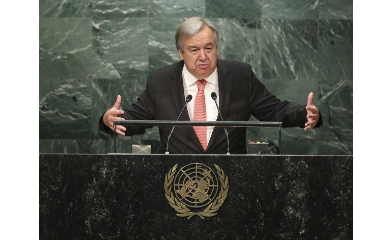 Nuevo líder de ONU enfrentará antagonismo de Trump
