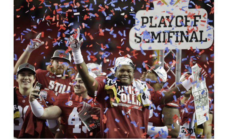 Alabama y Clemson volverán a verse las caras por campeonato