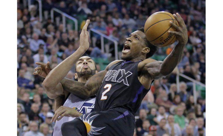 Rudy Gobert logra doble-doble en triunfo de Jazz sobre Suns