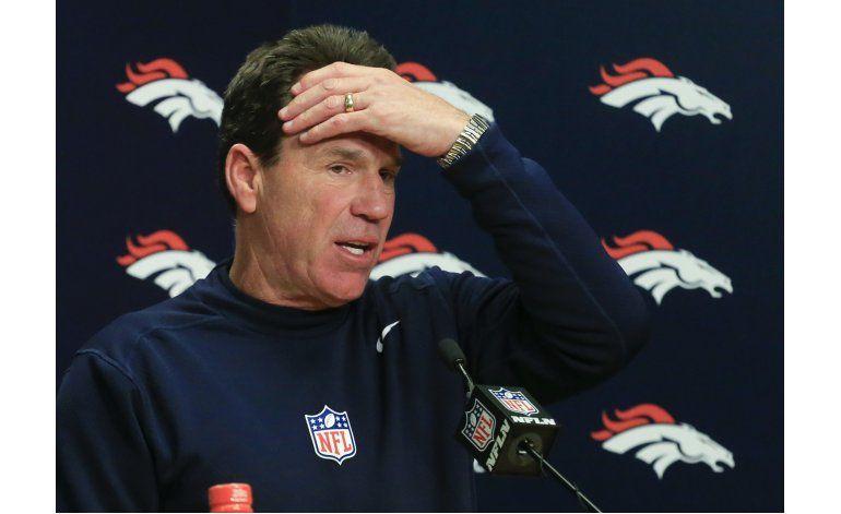 Crecen especulaciones sobre salida de Kubiak de Broncos