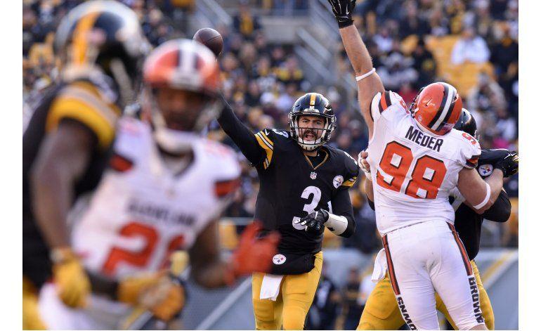 Steelers remontan y vencen a Browns en tiempo extra