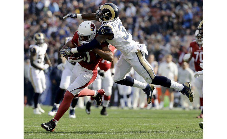 Palmer y Fitzgerald dan a Cardinals triunfo sobre Rams